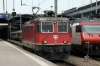 SBB Re 4/4 II 11212 at Luzern having arrived with IR2174 0945 Locarno - Basel (11127 worked forward to Basel)