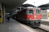 SBB Re 4/4 II 11116 waits departure from Luzern with IR2173 1204 Basel - Locarno (11199 worked it into Luzern)