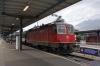 SBB Re 4/4 II (Re420) 11301 at Bellinzona on the rear of IR2155 0818 Bellinzona - Locarno; Re 4/4 II 11121 leads the train
