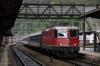 SBB Re 4/4 II (Re420) 11210 arrives Bellinzona with IR2267 1009 Zurich HB - Locarno
