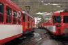 MGB Deh 4/4 I #54 (L) waits at Andermatt with 547 1412 Goschenen - Brig while #52 (R) departs with 542 1208 Visp - Goschenen