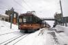 Gornergrat Bahn Bhe 4/8 EMU's 3054/3052 wait to depart Gornergrat with 242 1331 Gornergrat - Zermatt