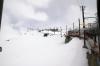 View from Gornergratbahn's 242 1331 Gornergrat - Zermatt as it heads away from Gornergrat