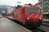 MGB HGe 4/4 II #3 at Brig Bahnhof Platz with 225 0952 Brig - Zermatt