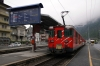 MGB Deh 4/4 I #52 at Brig Bahnhof Platz with 519 0737 Andermatt - Visp