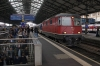 SBB Re 4/4 II (Re420) 11130 at Lausanne after arrival with 12017 0707 Vallorbe - Lausanne