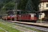 SBB Re6/6 11627 runs through Iselle di Trasquera as it enters Italy from Switzerland