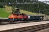 BLS shunters at Kandersteg Ee936 #135 & Eae935 #402