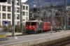RhB Ge4/4 II #619 arrives into Chur with RE1220 0740 Scuol-Tarasp - Disentis