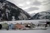 RhB Ge 4/4 II 625 leads the Glacier Express GEX903 0902 St Moritz - Zermatt into Disentis