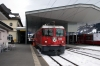 RhB Ge 4/4 II 625 at Disentis after arrival with the Glacier Express GEX903 0902 St Moritz - Zermatt