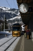 MOB Ge 4/4 8004 arrives into Gstaad (in the centre of the train) with 3118 0944 Montreux - Zweisimmen Golden Pass Panoramic
