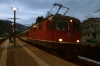 SBB Re 4/4 II (Re420) 11127 waits departure from Bad Ragaz with IR1781 1447 Basel - Chur