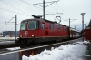 SBB Re 4/4 II (Re420) 11201 at Sargans with RE3836 1623 Chur - St Gallen