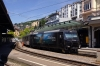 MOB Ge4/4 8003 waits departure from Montreux with 3126 1344 Montreux - Zweisimmen
