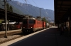 SBB Cargo Re6/6 11627 through Montreux with a freight