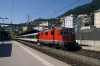 SBB Re4/4 11139 departs Montreux with RE4075 1651 Lausanne - St Maurice