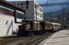 RhB Ge6/6 I #415 & Ge4/6 #353 arrive into Chur with 2125 0825 Landquart - Samedan RhB operated Summer Special