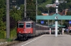 SBB Re421 421371 arrives into Bregenz (OBB) with EC194 1233 Munich HB - Zurich HB