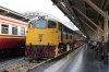 SRT 4050 waits to depart Bangkok with 341 1700 Hua Lamphong - Kaeng Khoi Jn