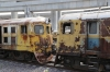 SRT Bang Sue Shed Demic Line - 515?, 579 and 539 between the cabs