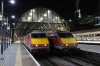 91116 and 91125 sit side-by-side at Kings Cross, 91116 would work 1N36 2300 Kings Cross - York