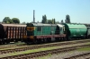 UZ ChME3-2510 shunting in the yard at Sumy