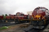 A&M Shops - Alco C420's #46 & #66, Alco T6 #18 & EMD SD70ACe #70
