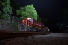 A&M Alco C420's 68/44 head the 1900 Mountainburg - Springdale NRHS Convention night photo freight at Winslow