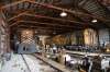 Illinois Railway Museum Diesel Days #3 – Barn #2 - Alco RS3 Minnesota Transfer #200 & EMD E9A Milwaukee Road #37A