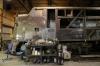 Illinois Railway Museum Diesel Days #3 – Barn #2 - EMD E9A Milwaukee Road #33C