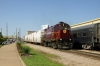 A&M Alco C424 #32 heads south through Springdale with the Springdale Turn