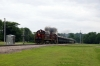 A&M Alco C420's 44/68 perform a photo run-by at West Fork with the 0800 Springdale - Fort Smith NRHS Convention Special