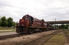 A&M Alco C420's 68/44 wait departure from Fort Smith with the 1430 Fort Smith - Springdale return leg of an NRHS Convention Special