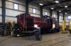 A&M Alco RS1 #20 inside Springdale Shops having just been returned to service after a lengthy period stored