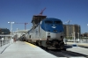 Amtrak GE P42DC's 197/89 at Denver Union with train 5 1400 (P) Chicago Union - Emeryville (California Zephyr)