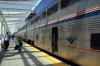 Amtrak GE P42DC's 197/89 at Denver Union with train 5 1400 (P) Chicago Union - Emeryville (California Zephyr)