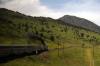 Between Denver & Glenwood Springs, CO, from Amtrak's California Zephyr; headed by Amtrak GE P42DC's 197 & 89