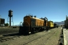 Nevada Northern Railway Alco RS2 #105 waits departure from East Ely with the 0930 East Ely - Keystone - East Ely