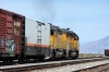 UP EMD SD40 #1689 & EMD GP60 #1954 pass through Grantsville at Cargill Industry with a Salt Lake bound freight