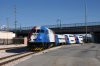 UTA Frontrunner MPI MP36PH-3C #19 arrives Salt Lake Central with the 1650 Provo Central - Ogden