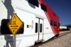 UTA Frontrunner MPI MP36PH-3C #8 departs Salt Lake Central with the 1709 Ogden - Provo Central