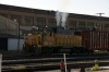 UP EMD GP38 #835 arrives into Salt Lake City with a short transfer freight
