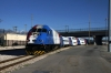 UTA Frontrunner MPI MP36PH-3C #17 arrives Salt Lake Central with the 1750 Provo Central - Ogden