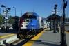 UTA Frontrunner MPI MP36PH-3C #7 departs Salt Lake Central with the 1809 Ogden - Provo Central