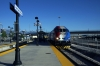 UTA Frontrunner MPI MP36PH-3C #10 arrives Salt Lake Central with the 1820 Provo Central - Ogden