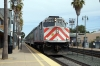 Caltrain F40PH-2 #902 departs San Mateo with 424 0915 San Francisco - San Jose Diridon