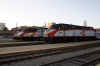 Caltrain San Francisco station (L-R) EMD F40PH-2 #911, MPI MP36PH-3C #927, F40PH-2 #906 & MP36PH-3C #928