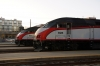 Caltrain San Francisco station MPI MP36PH-3C's #927 & #928