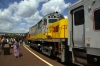 DL Alco RS3 4118 & C420 #414 at Scranton after arrival with the ELDCPS 0900 Delaware Water Gap - Scranton Charter for Scranton Railfest